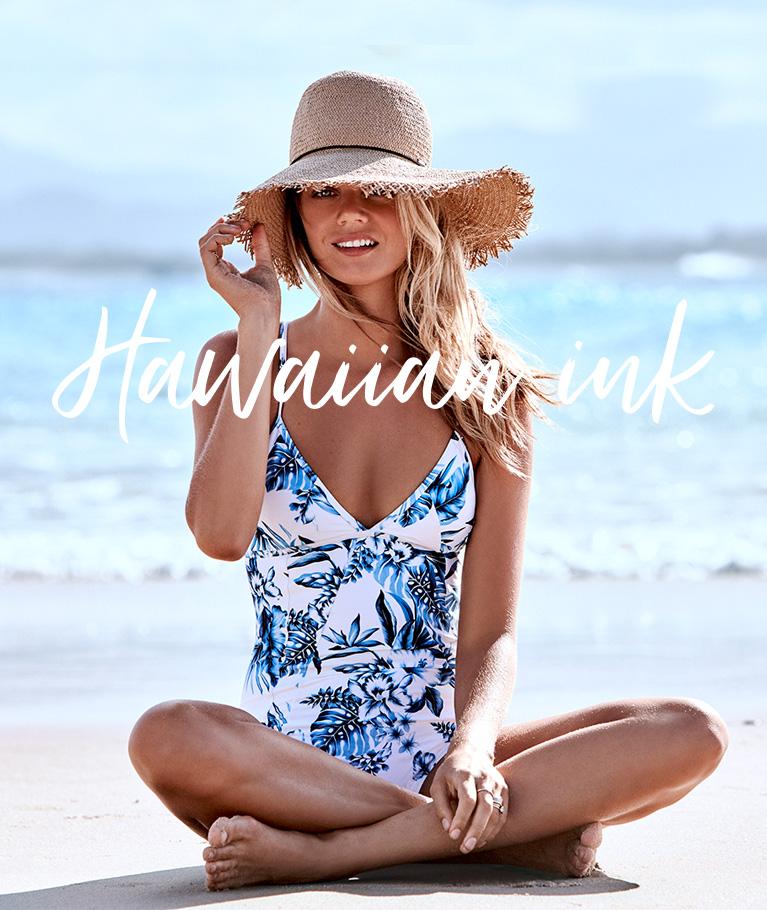 Hawaiian Ink Collection Swimwear