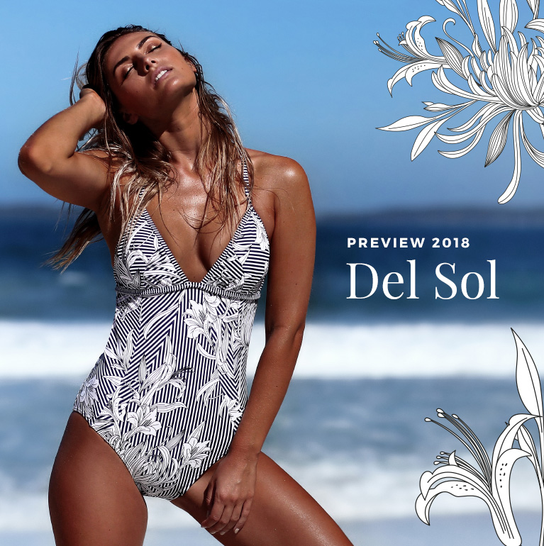 Del Sol Swimwear Collection