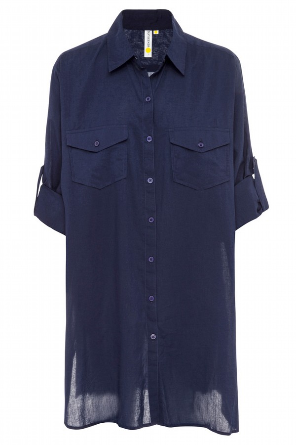 Sunseeker Basix Button Through Shirt